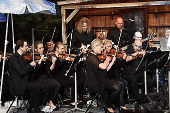 Haager Theatersommer das Philharmonic Rock Orchestra Live