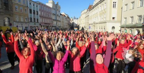 One Billion Rising 2020 in Steyr