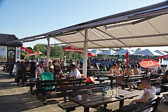 Grand Opening Restaurand zum Biber/Sunset Beach Bar Ausee